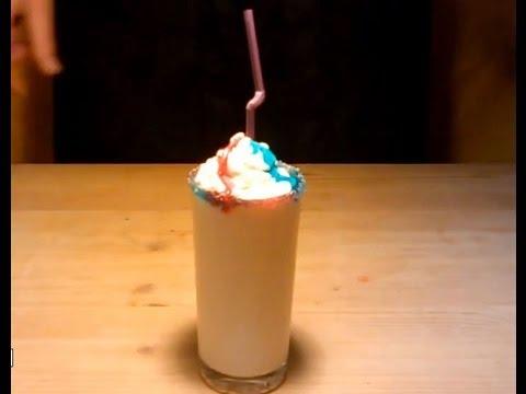 Как сделать молочный коктейль густым