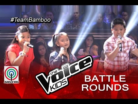 """The Voice Kids Philippines 2015 Battle Performance: """"Your Love"""" by Kate, Paul, and Elha"""