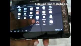 Celkon Tablet Hands on Review.mpg