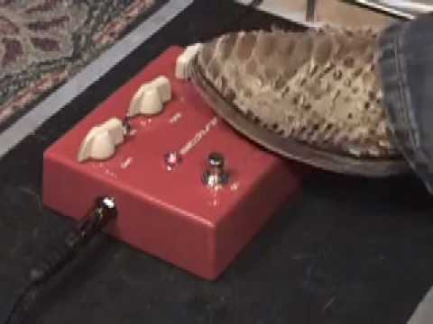 VOX Satchurator guitar effects pedal demo with King Bee Guitars relic tele & Dr Z MAZ 18