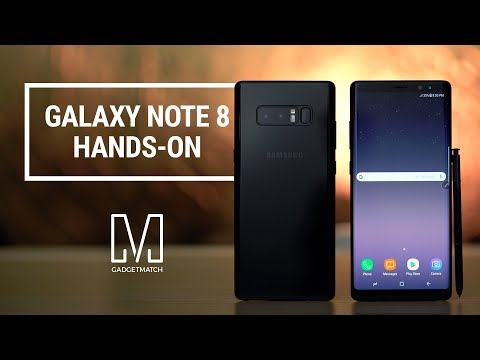 Samsung Galaxy Note 8 Hands-On Review