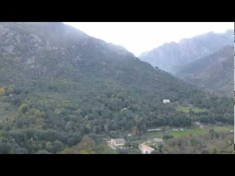 La citadelle de Corte (Corse)