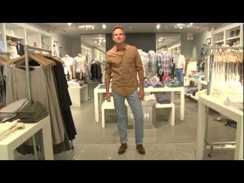 Men's Style: Shopping at Club Monaco