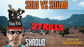 Shroud LIVE PUBG - SHROUD LIVE STREAMING PUBG - SOLO SQUAD BEST VIDEO OF SHROUD 1