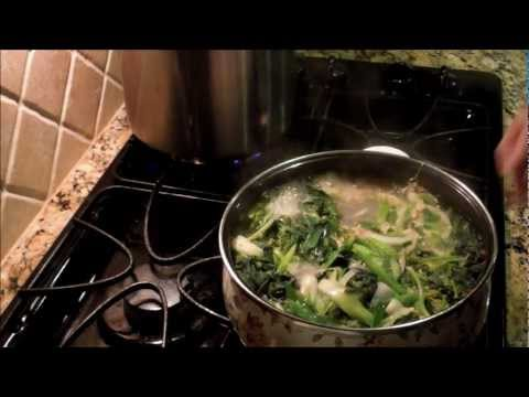 Korean Spinach Soup Korean Spinach Soup With