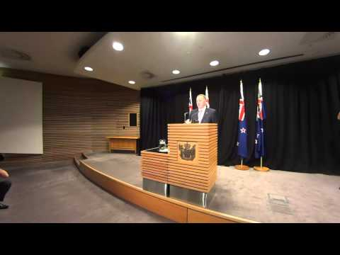 NZ PM John Key's Post Cabinet Press Conference - 30 June 2014