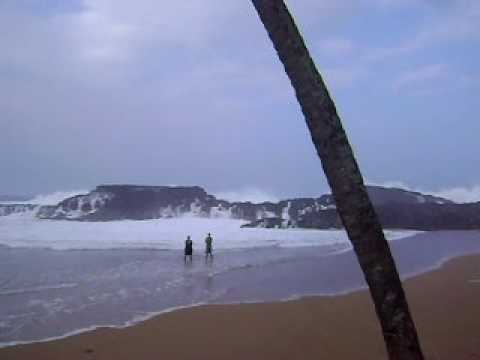 VEGA BAJA BEACH IN PUERTO RICO .... WAVES HITTING OUR SHORES