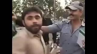 2016 funny clip new policeman near Lahore