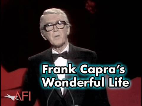 Jimmy Stewart Narrates Frank Capra's Wonderful Life Story