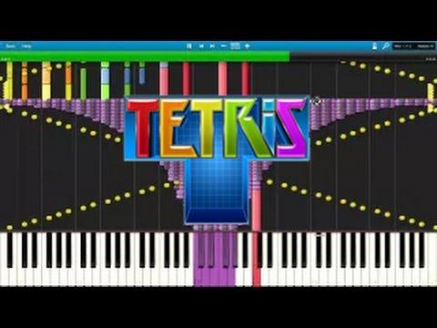 [Black MIDI] Synthesia - Tetris Theme A ~50,000 note 'Impossible Remix' ~ Kanade Tachibana