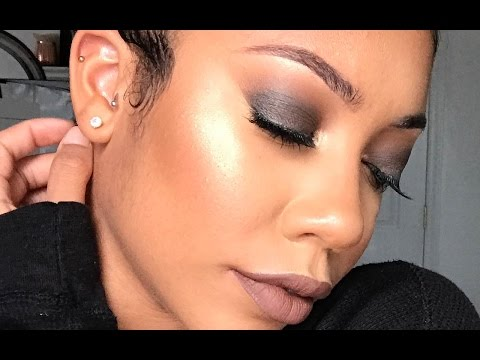 SIMPLE SMOKEY EYE + FOR BEGINNERS   FACEOVERMATTER