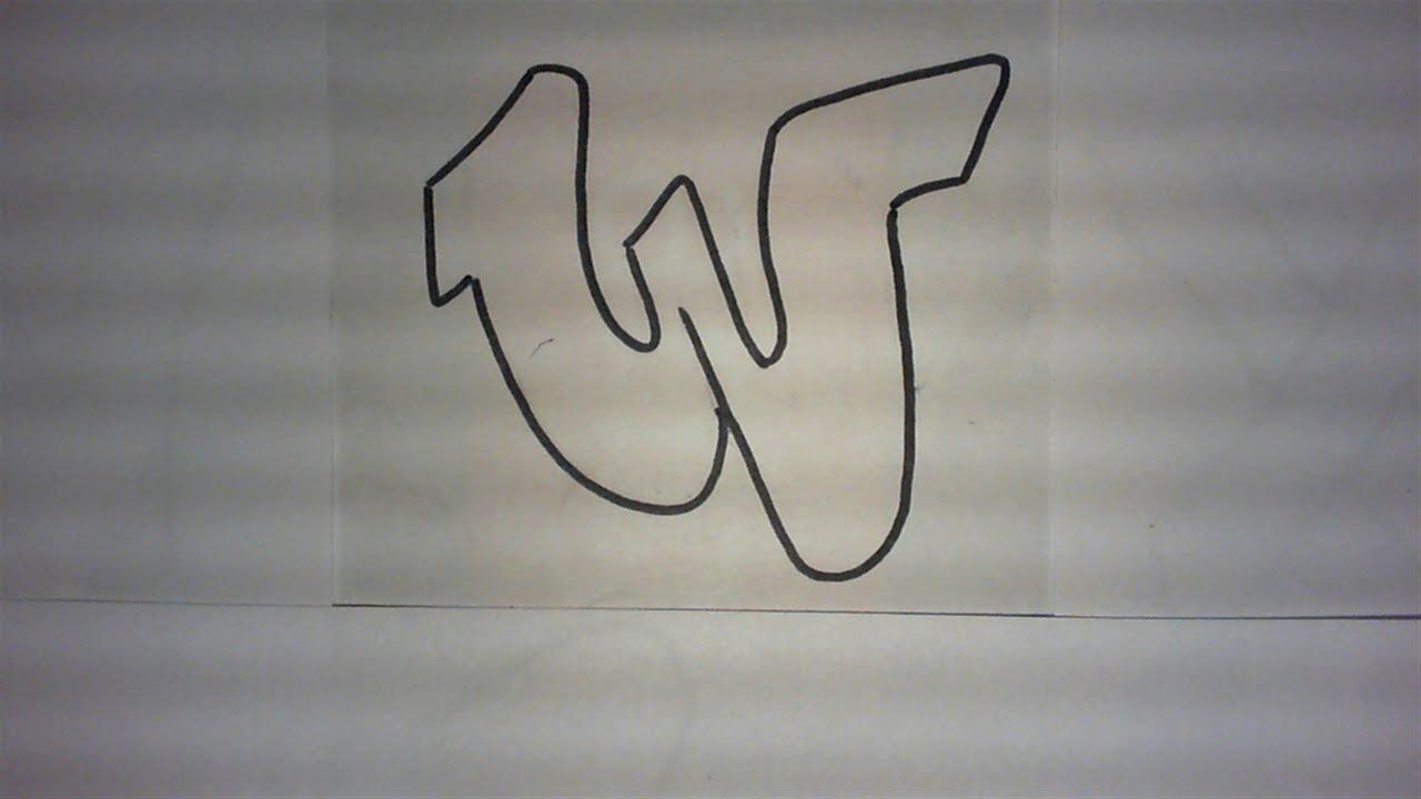 Graffiti alphabet n 3 lettre par lettre graff pour d butants very simple letters hd youtube - Lettre graffiti alphabet ...