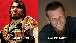 Red Dead Redemption Characters Voice Actors