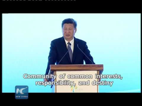 China's Xi envisions community of common interests along Silk Road Economic Belt