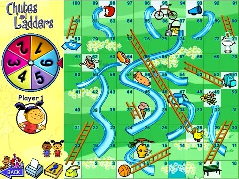 Chutes and Ladders PC Board Games Review