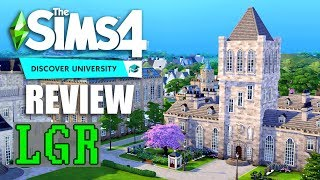 LGR - The Sims 4 Discover University Review
