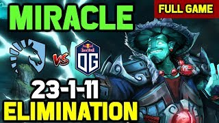 OMG! Miracle Storm Spirit eliminates OG from Paris Major with ENDGAME RAMPAGE