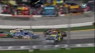 Martinsville 2012 - G-W-C #1 Crash