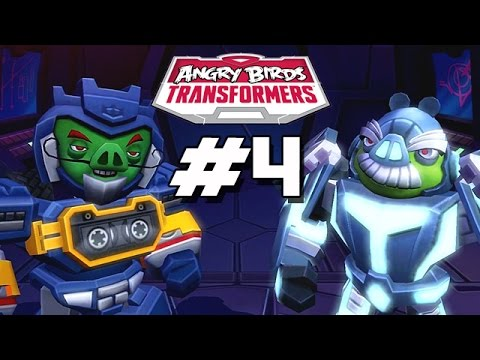 Angry Birds Transformers - Part 4 (new Area Lockdown) Ios Gameplay video