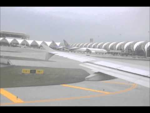 Bangkok Airways (PG) to Phuket (HKT) – Bangkok (BKK) Landing and Taxi Bangkok