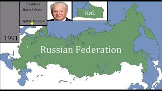 History Of The Russian Federation : Every Year