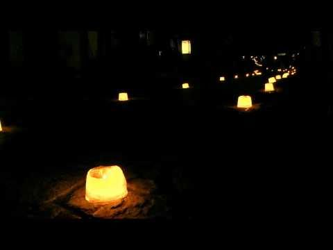 中津川市 「馬籠宿」 ~氷雪の灯籠祭り~