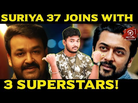 Suriya Gets Bollywood, Mollywood and Tollywood Superstars for Suriya37 | KV Anand | Harris Jayaraj