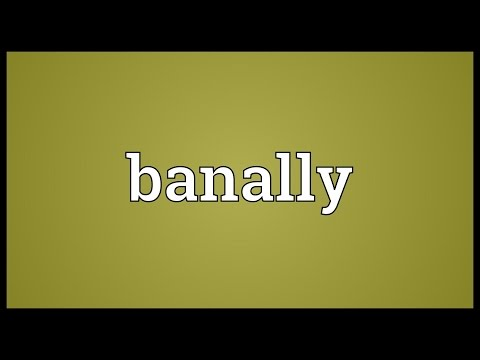 Header of banally