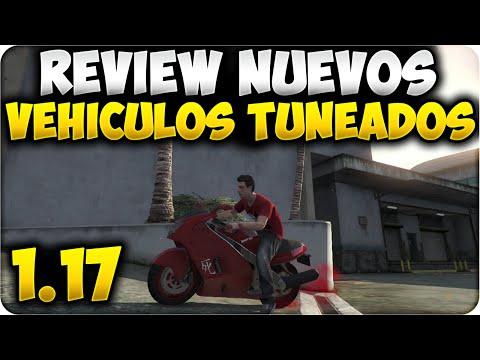 GTA 5 ONLINE 1.17 - REVIEW NUEVOS VEHICULOS TUNEADOS NUEVO DLC 1.17 - GTA V ONLINE 1.17