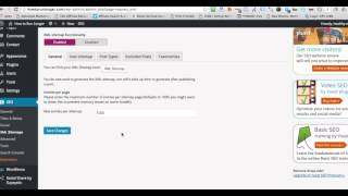 How to Generate a Sitemap and how to submit a sitemap to Google Webmaster tools
