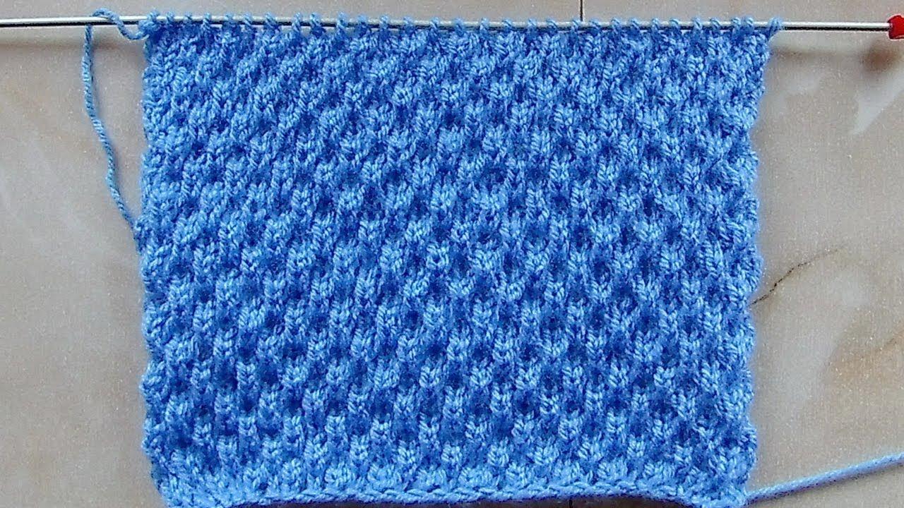 Выпуклые узоры для вязания на спицах 17