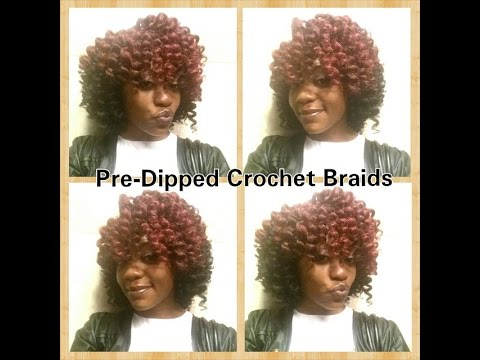 Crochet Hair Pre Curled : How To: Pre-Dipped/ Pre-Curled Crochet Braids using Marley hair ...