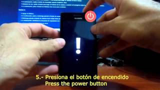 Cómo hacer Hard Reset (restaurar datos de fábrica) a tu Huawei W1 | Hard reset Windows Phone