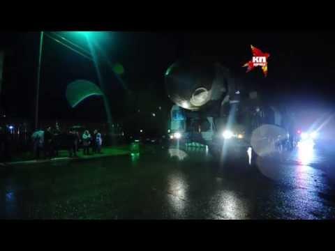 Ракетный комплекс Тополь перевезли на ВДНХ