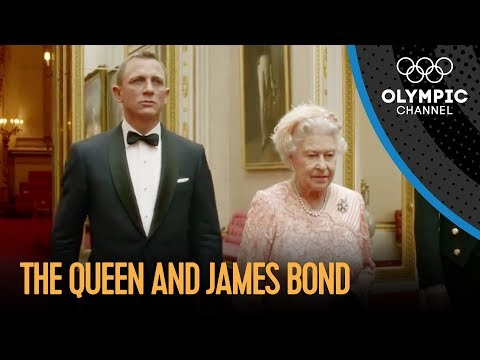 James Bond and The Queen London 2012 Performance klip izle