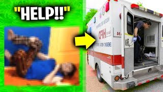 He Had An Accident On FACE Cam - Fortnite