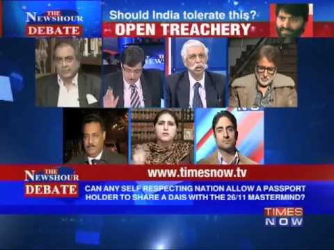 The Newshour Debate: Is it Open Treachery by Yasin Malik? (Part 1 of 4)