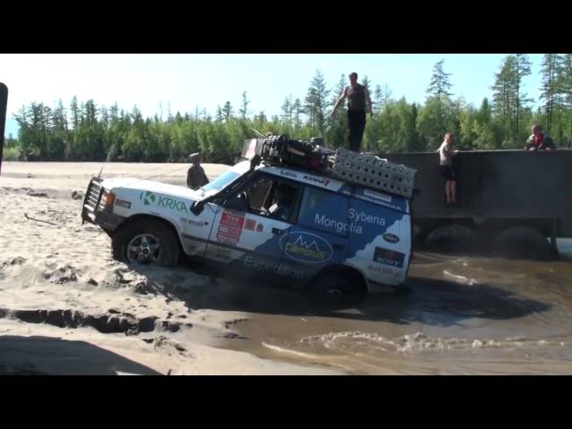 Syberia Mongolia off road expedition