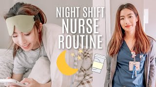Night Shift Nurse Routine (Get Ready for a 12 hour shift, 7PM to 7AM!!)