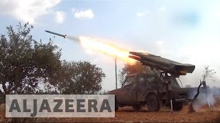 Syria war: Fighting rages in Aleppo as rebels clash with Syrian troops