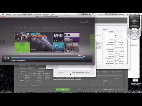 Full HD LiveStream Setup Mac Book Pro