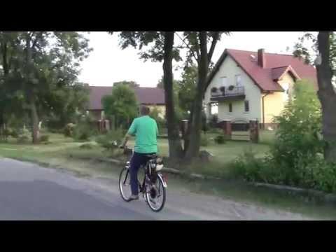 Rower z silnikiem spalinowym # 1  prezentacja