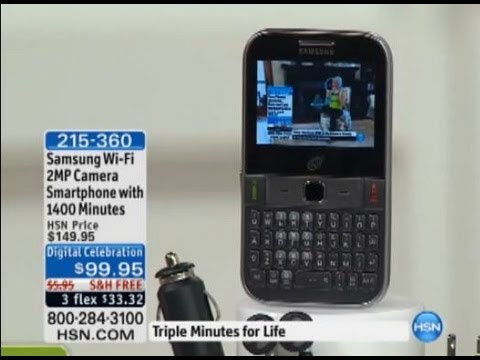Samsung S390 2MP Camera Wi-Fi Smartphone with 1400 Minutes