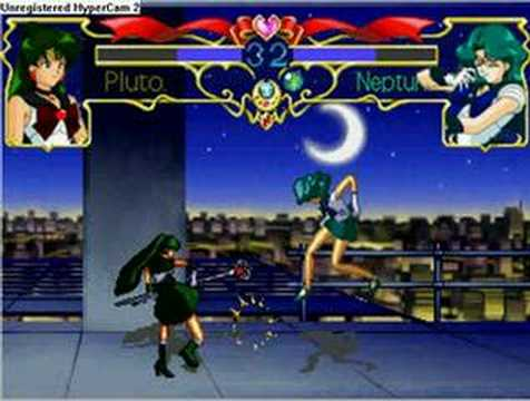 Sailor Pluto vs Sailor Neptune