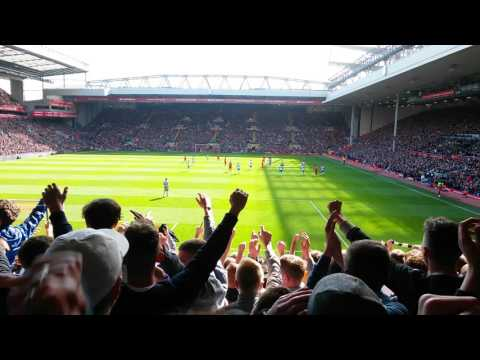 Rafa Benitez song at Anfield.