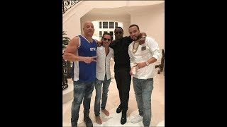 Vin Diesel Se reune con Puff Daddy y French Montana. (Nicky jam, Marc Anthony)