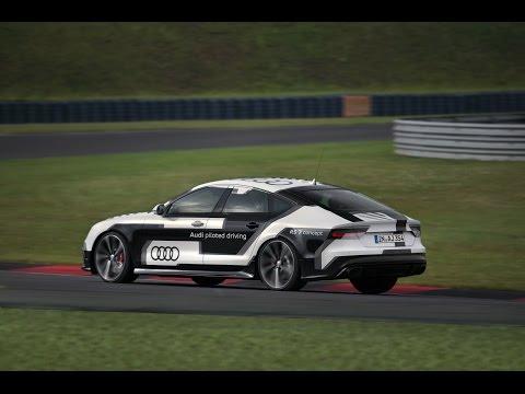 Autonom Audi RS7 Sportback @ Hockenheimring