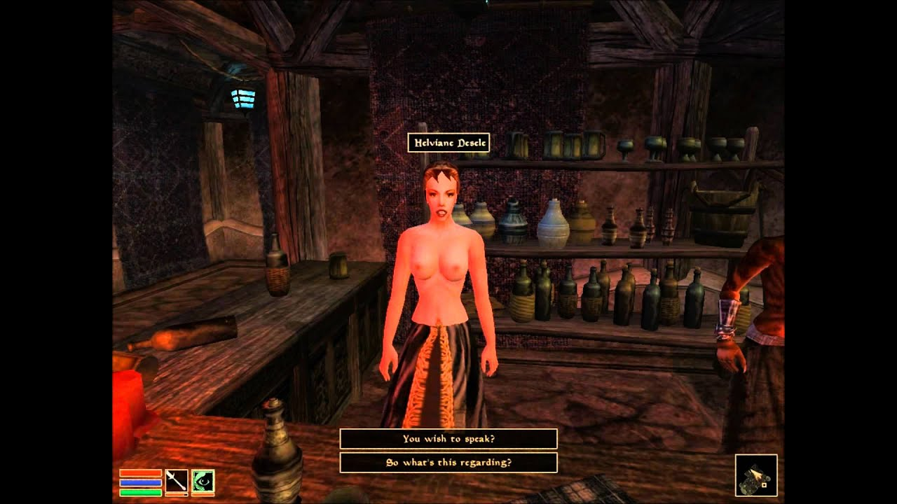 Morrowind romance nude patch instruction porn video