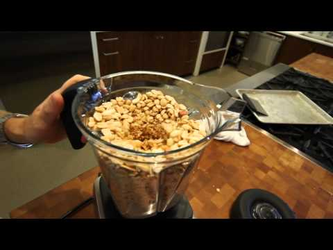 Making Peanut Butter using the Vitamix 750 at Cook Culture