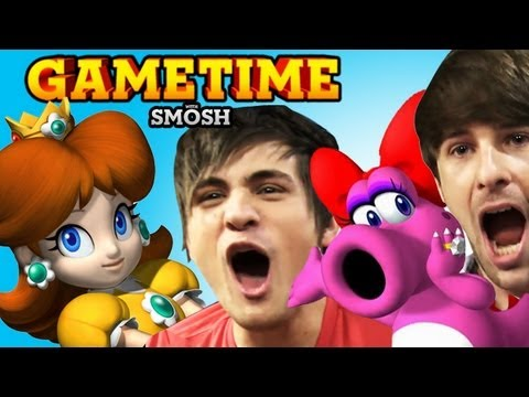 MARIO PARTY FTW (Gametime w/ Smosh)